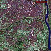 Hanamaki from Google Earth