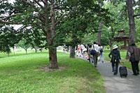 中島公園を歩く