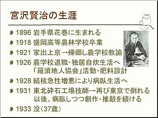 宮沢賢治の生涯