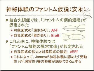 神秘体験のファントム仮説(安永)