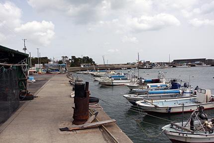 菖蒲田漁港