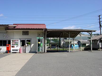 陸中松川駅・旧駅舎