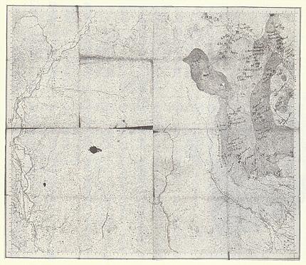 五万分の一地図「新町」と賢治の書き込み