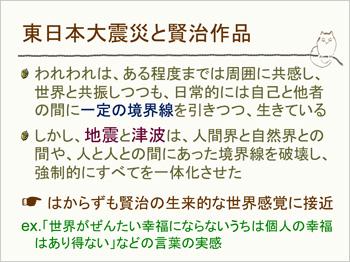 東日本大震災と賢治作品