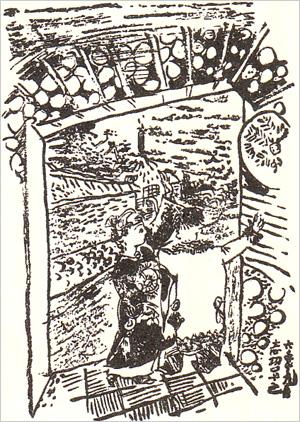「グスコーブドリの伝記」挿画