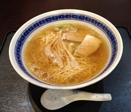 新華園本店「醤油ラーメン」