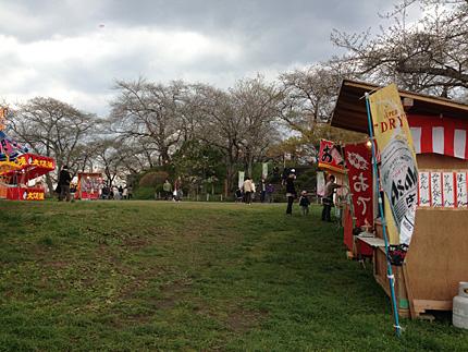 紫波町城山公園「桜まつり」
