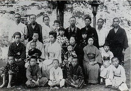 明治39年第八回仏教講習会(大沢温泉)