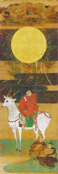 「鹿島立神影図」(春日大社蔵)