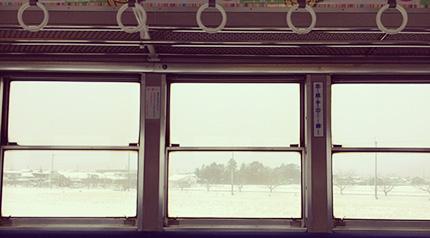 近江鉄道の車窓