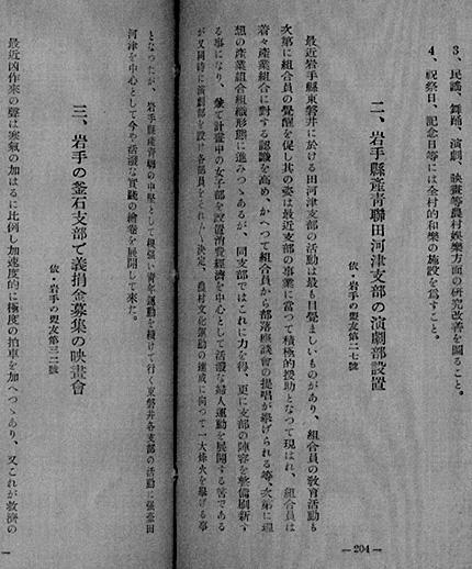 『産青聯の活動事例』
