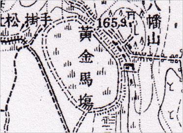 旧黄金競馬場(大正5年)