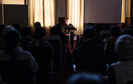 「第7回イーハトーブ・プロジェクトin京都」:竹崎利信さんの「かたり」