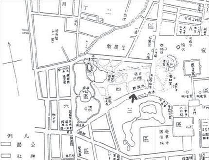 「浅草公園水族館」地図