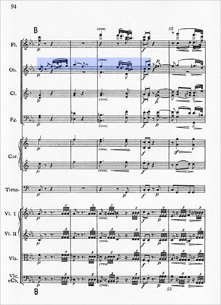 ベートーヴェン交響曲第3番第2楽章4