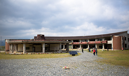 大川小学校校舎