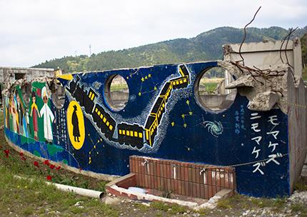 大川小学校壁画1