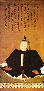 大内義隆像(龍福寺蔵)