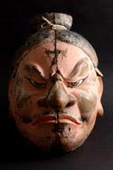 鹿島神宮「悪路王の首像」