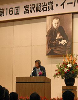高橋源一郎氏の記念講演