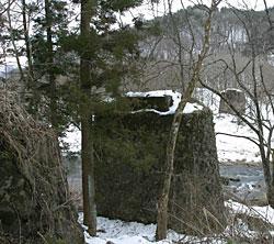岩根橋の橋脚