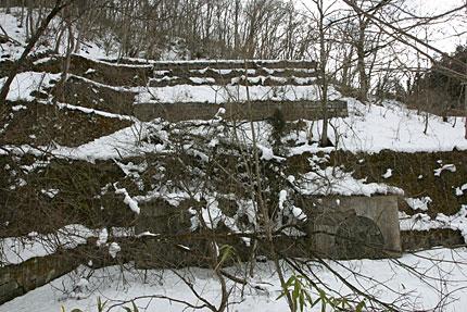 岩根橋発電所跡