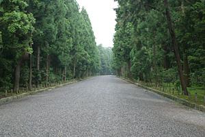 桃山御陵参道