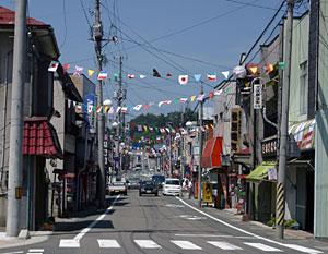 土沢商店街