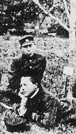 盛岡高等農林学校植物園にて(1916年5月)