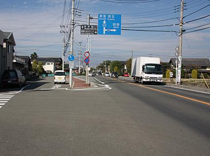 旧駒井村中心部