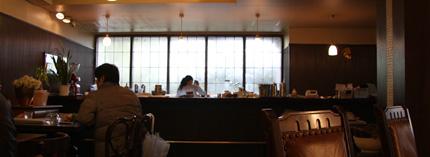 cafe山猫軒店内