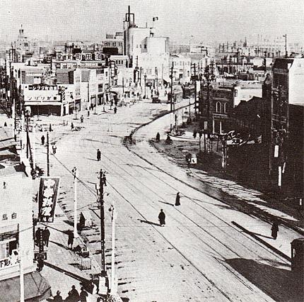 昭和4年頃の須田町界隈