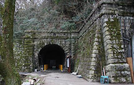 旧逢坂山トンネル跡