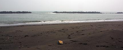 苫小牧の砂浜(前浜)