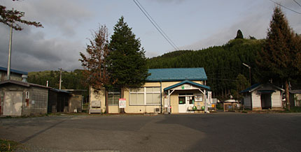 JR上米内駅
