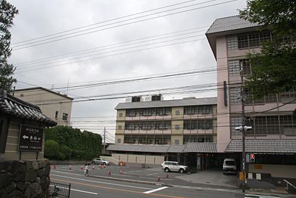 1926年移転まで中外日報社があった場所
