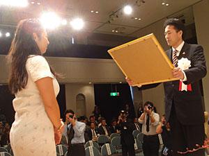 高嶋由美子さん受賞