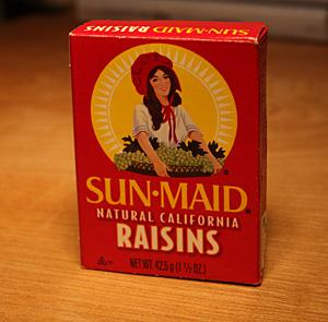 SUN-MAID RASINS
