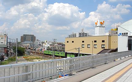 現在の柏原駅