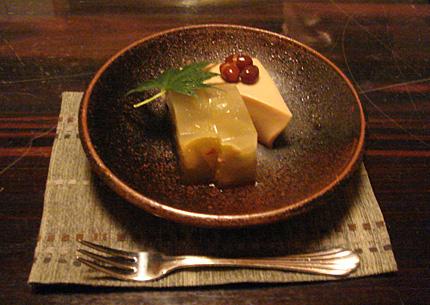 水無月豆腐と巨峰のゼリー