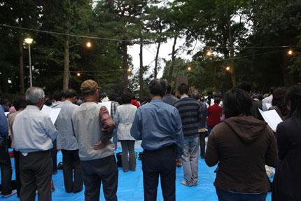 「ポラーノの広場のうた」全員合唱