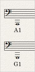 A1とG1