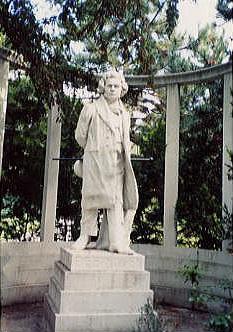 ハイリゲンシュタットのベートーヴェン像