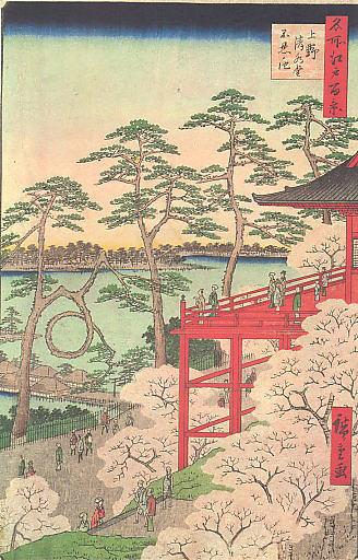 上野清水堂の桜